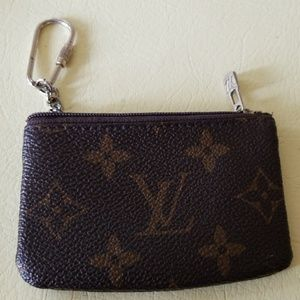 Louis Vuitton Monogram Pochette Wallet/Key Holder
